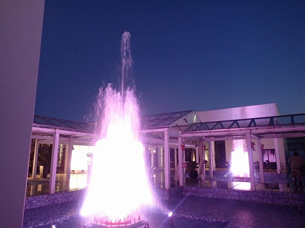【噴水】高崎 結婚式場「GLOSS」ウェディングケーキ噴水(群馬県)