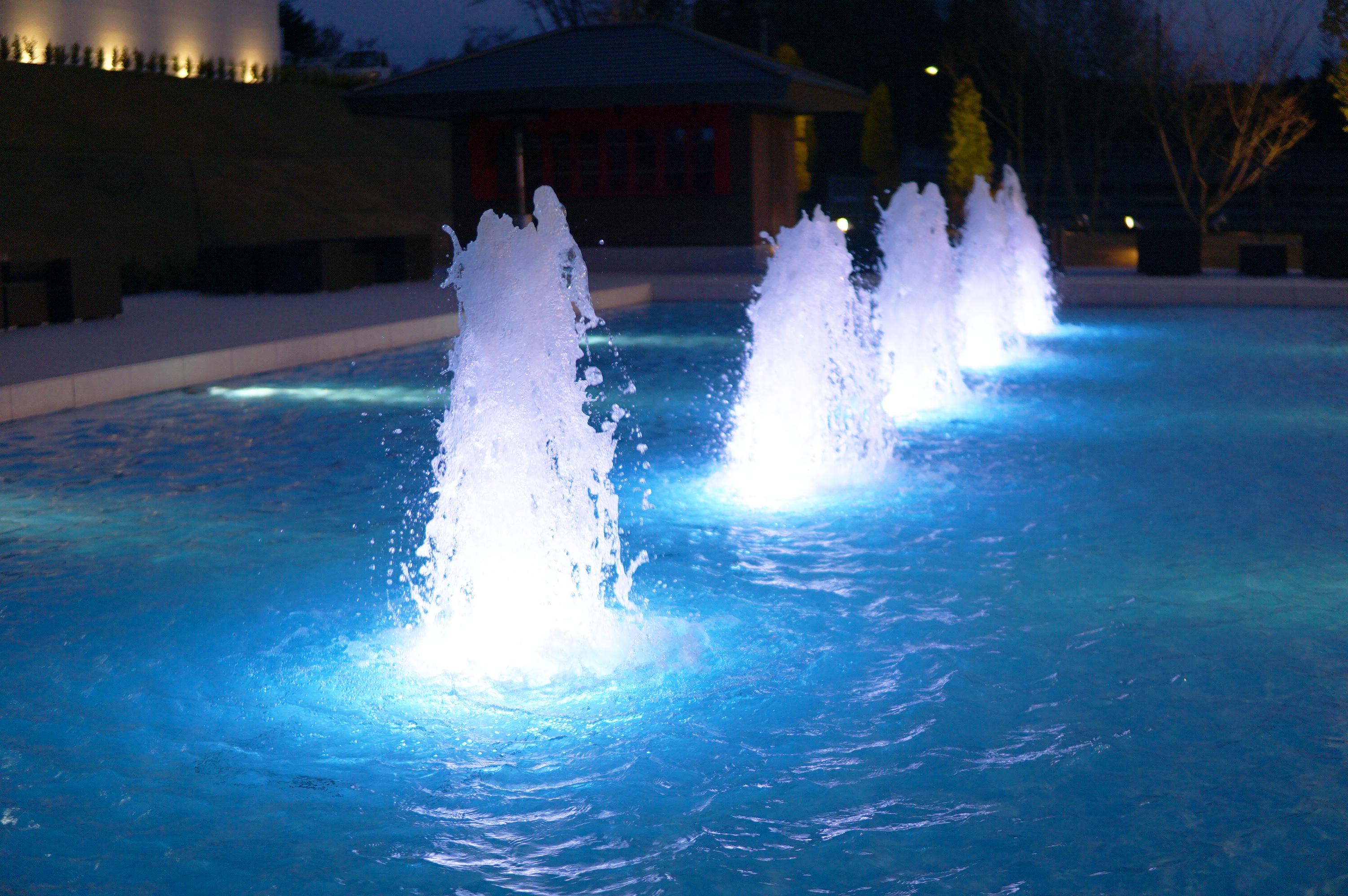 【噴水の種類】キャンドル型噴水