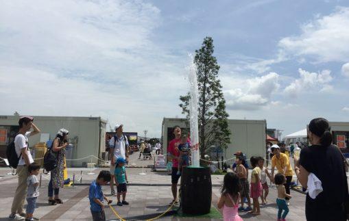 レンタル噴水_夏のイベント向け噴水レンタル受付開始しております