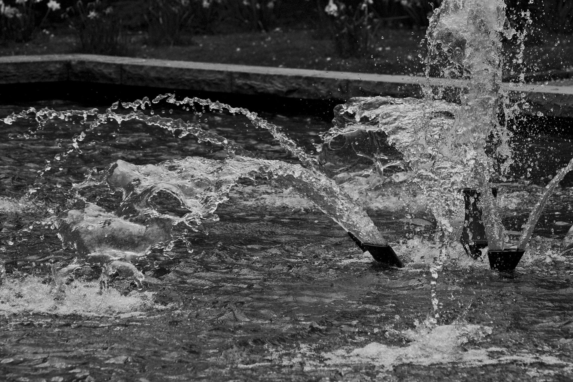 【噴水の種類】平型噴水