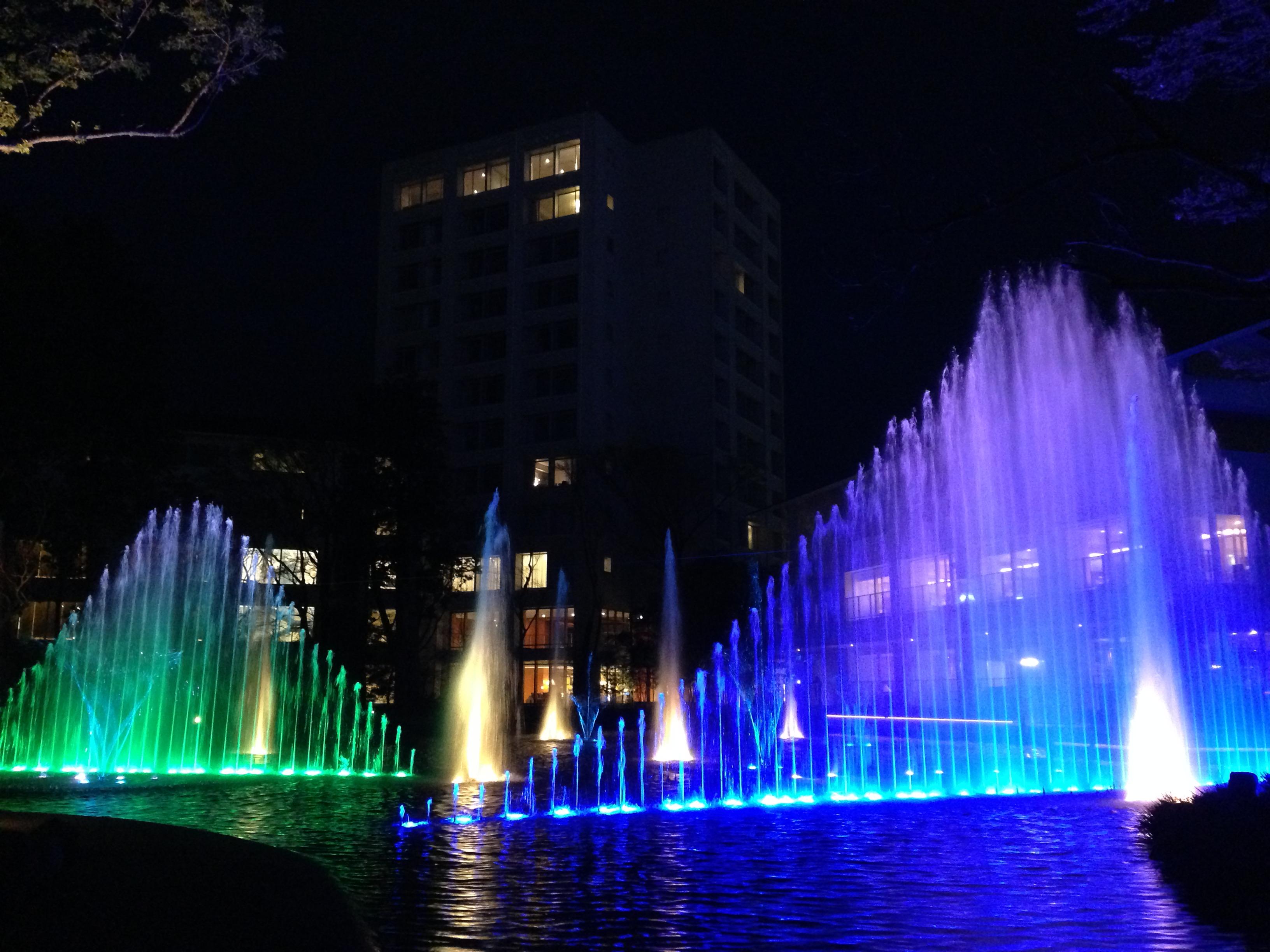 マースガーデンウッド御殿場 音楽噴水ショー