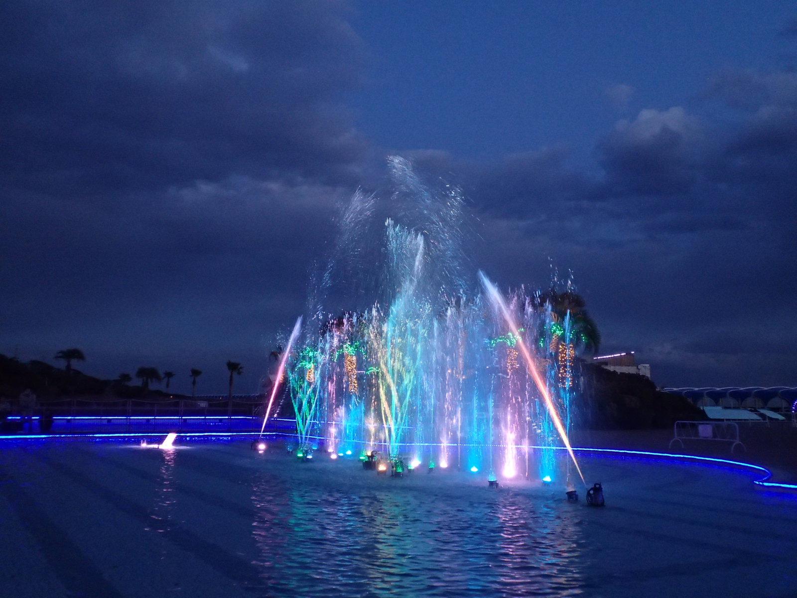 【噴水ショー】大磯プリンスホテル音楽噴水ショー(神奈川県)