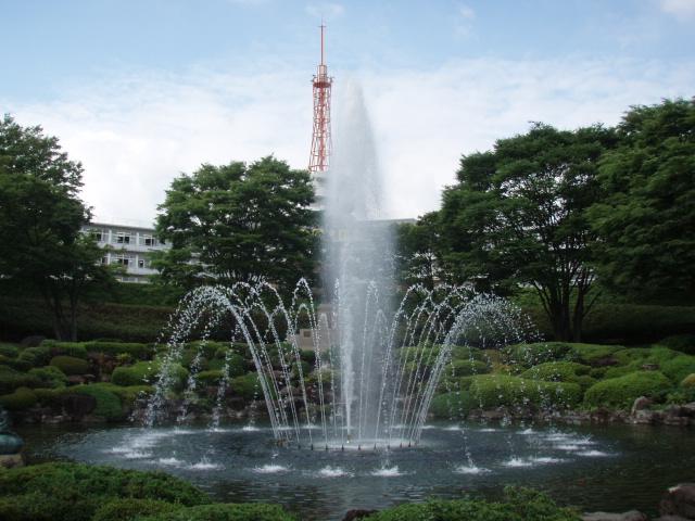 【噴水】東海大学湘南校舎 噴水 リニューアル(神奈川県)
