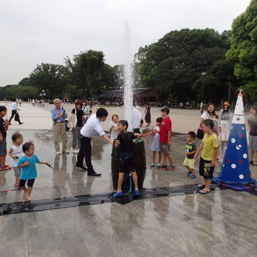 「噴水の日」おもしろ噴水フェア2015