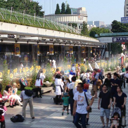 東京ドームシティ ひまわりロード