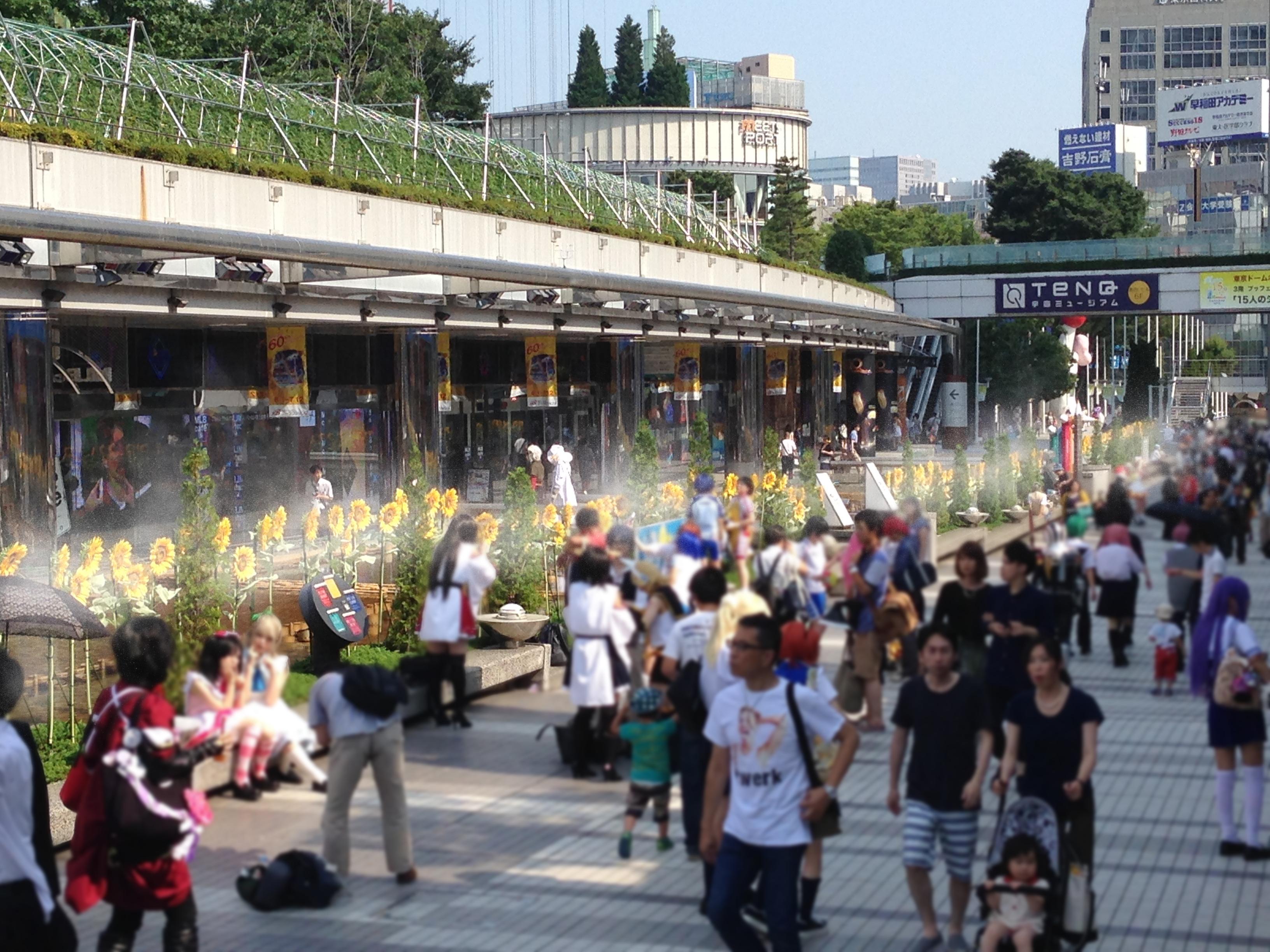 東京ドームシティ ひまわりロード(文京区)