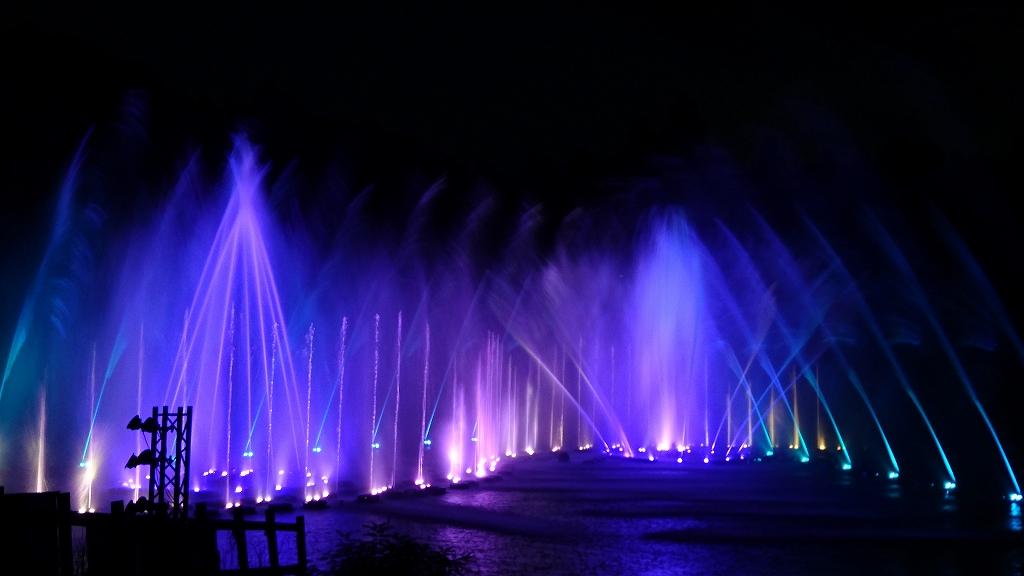 【噴水ショー】はままつフルーツパーク 音楽噴水ショー リニューアル(静岡)