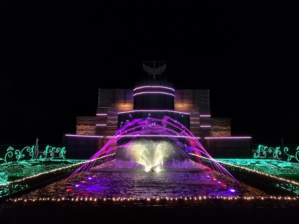 さがみ湖イルミリオン音楽噴水ショー2017