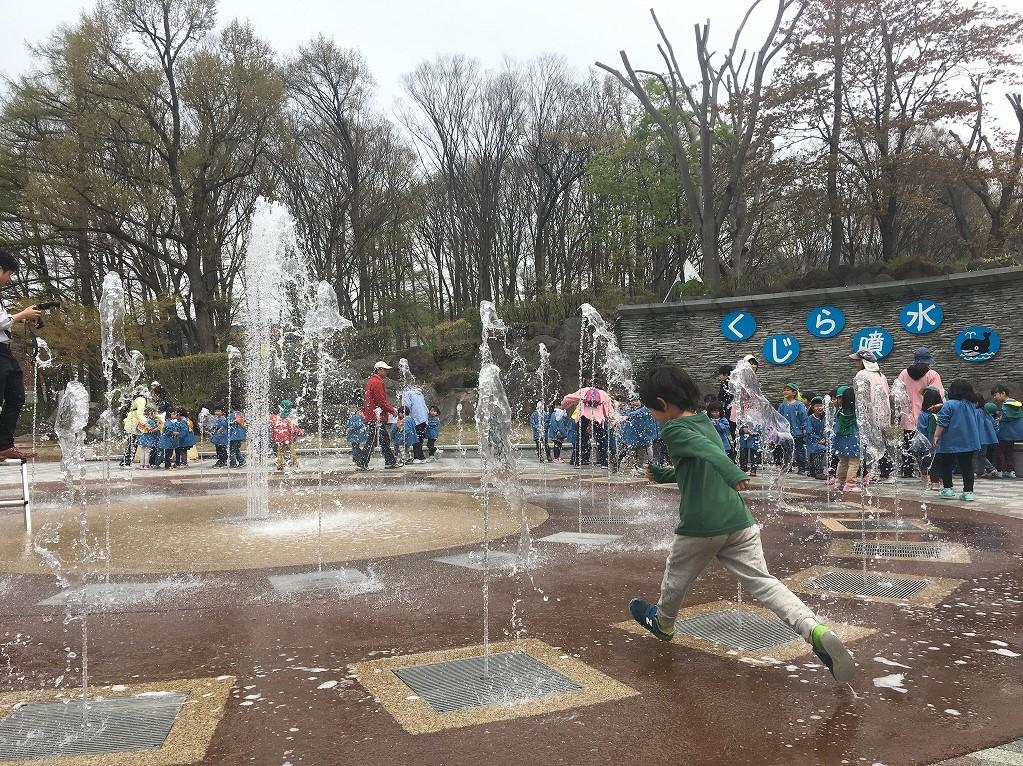 【噴水】長野県東御市中央公園 噴水改修
