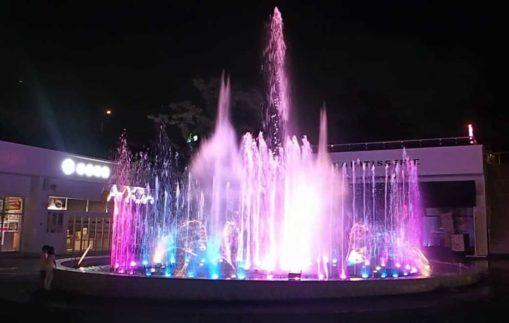【噴水ショー】メイカーズピアの音楽噴水ショーに新曲を追加致しました