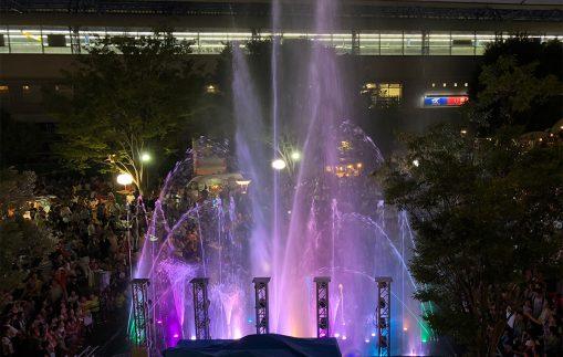 【レンタル噴水・噴水ショー】施工事例(レンタル)に記事を追加しました。
