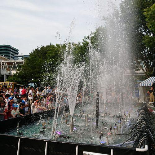 音楽噴水ショー レンタル事例