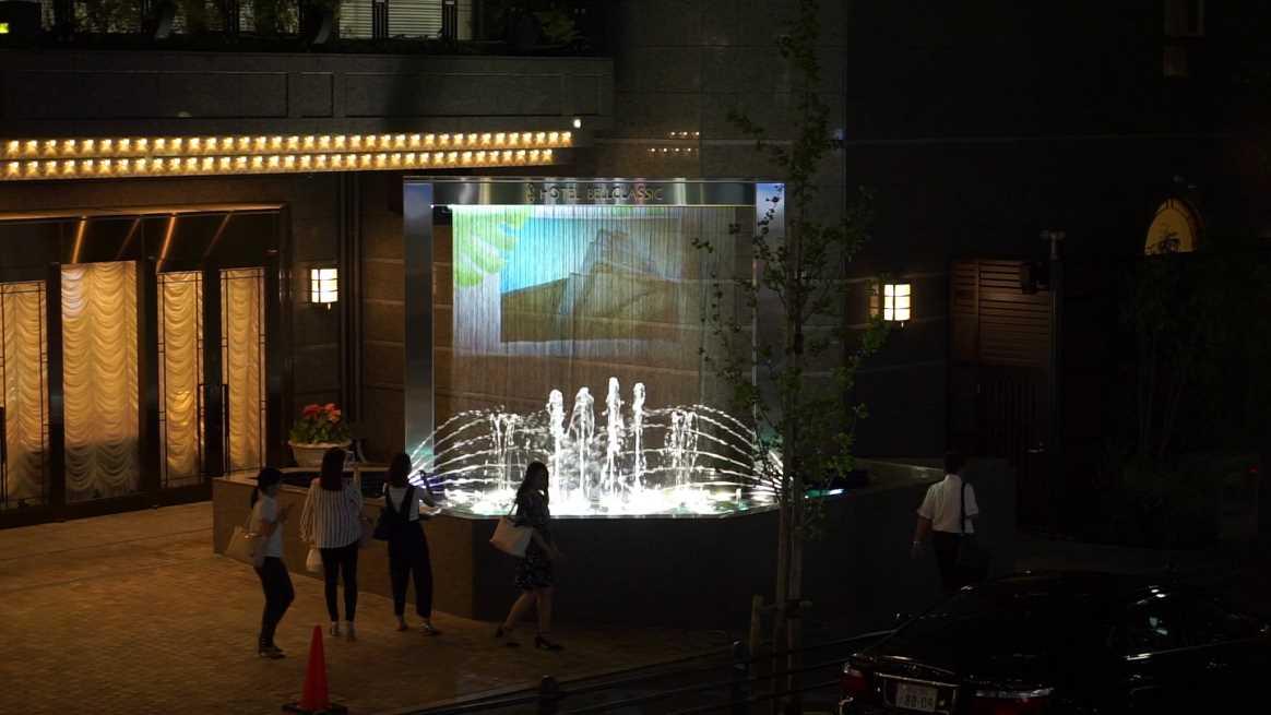 ホテルベルクラシック東京 新規噴水施工(豊島区)
