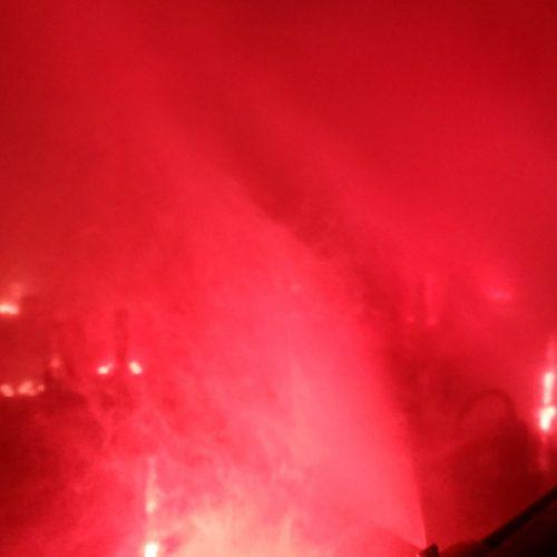 【噴水演出】実験: 噴水で表現する炎