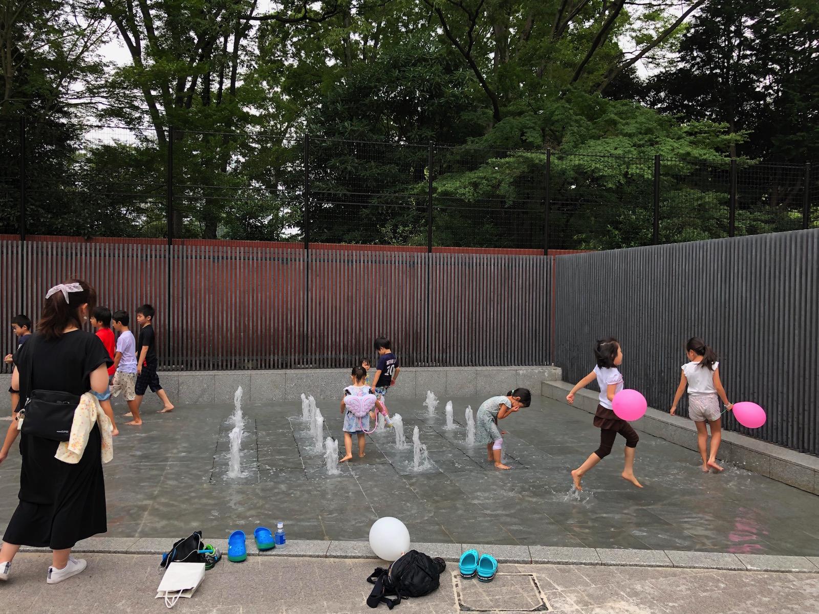 【噴水・じゃぶじゃぶ池】六義公園 親水施設設計・施工(東京都文京区)