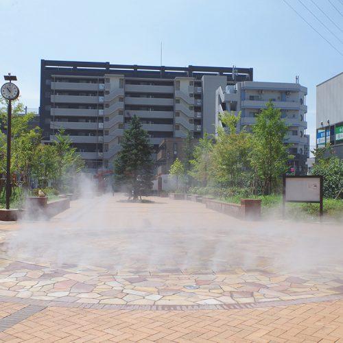【ミスト】北戸田噴水公園 親水施設設計・施工(埼玉県)