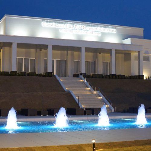 【噴水】N-resort Fukushima 水景設備設計・施工(福島県)