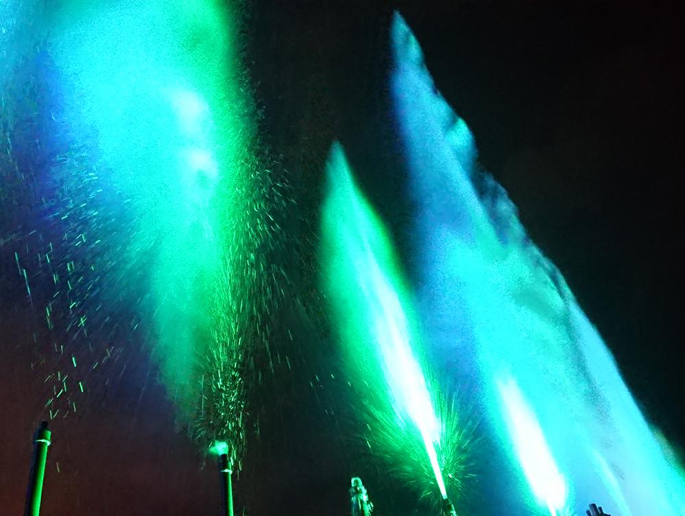 【レンタル噴水】スプラッシュ ウォーターキャノン砲!