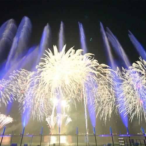 【レンタル噴水】ドゥサイエンスウォーターイベント案内