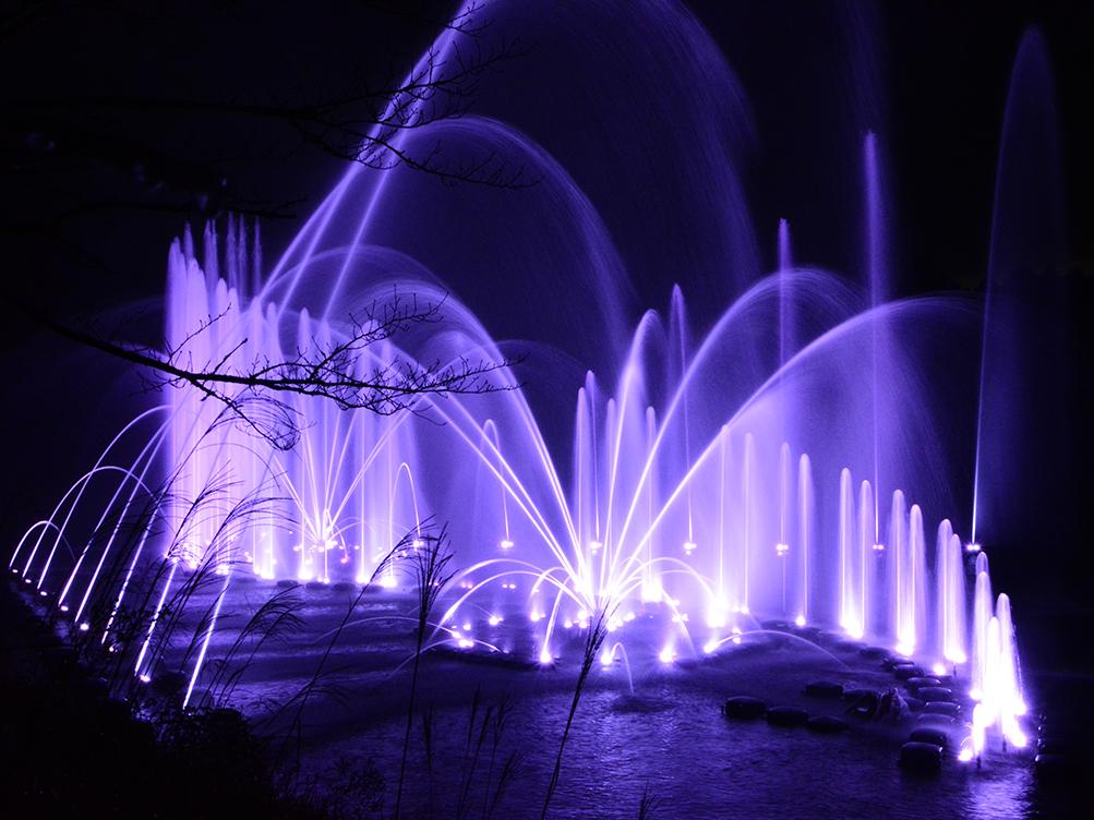 【噴水ショー】はままつフルーツパーク時之栖 音楽噴水ショー プログラムリニューアル(静岡県)