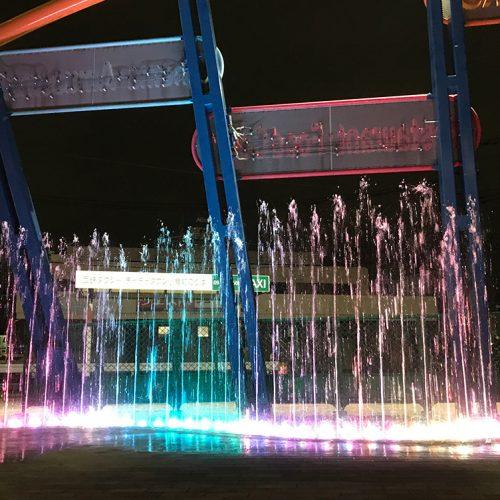 【噴水】チャチャタウン小倉 親水設備施工 設計・施工(福岡県)