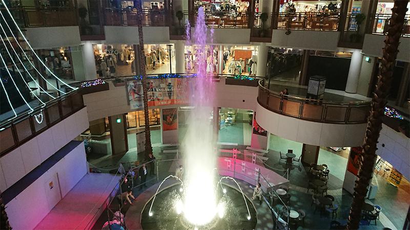 【噴水ショー】イオンモール桑名 音楽噴水ショーに完全リニューアル(三重県)