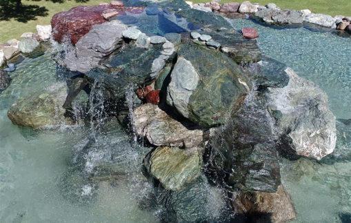 【水景設備設置】施工事例(水景施設/滝)に記事を追加しました。