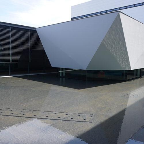 【水景施設】某研究所水盤設計・施工(茨城県)