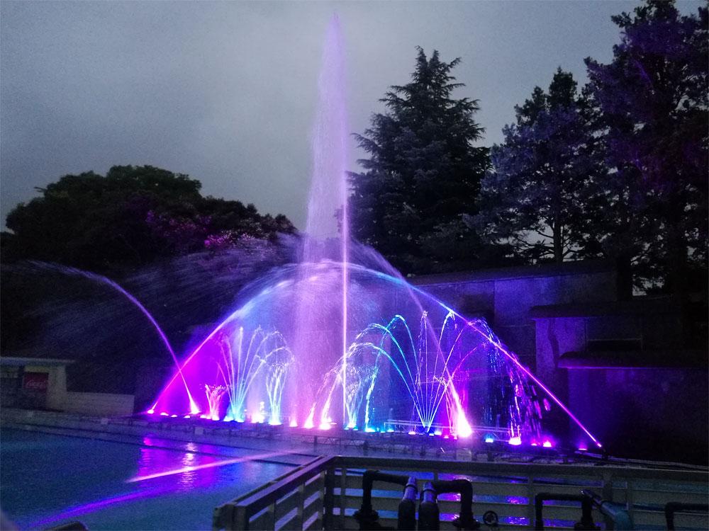 【噴水ショー】としまえん レンタル音楽噴水ショー(東京都練馬区)