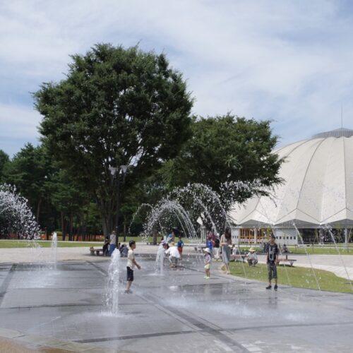 【噴水】松本平広域公園 信州スカイパーク 親水設備 設計・施工(長野県)