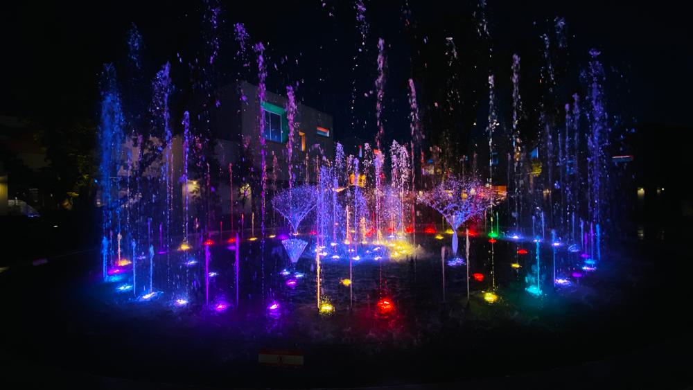 【噴水ショー】名古屋 メイカーズピア 音楽噴水ショー プログラムリニューアル2021(愛知県)