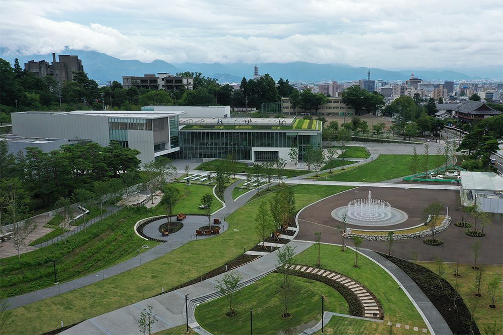【噴水・じゃぶじゃぶ池】城山公園 親水設備 設計・施工(長野県)